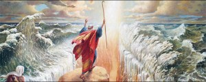 Mormon Moses parting Red Sea
