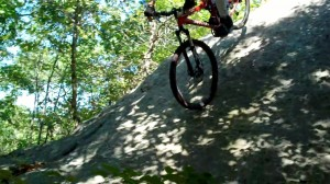 Mormon mountain biker
